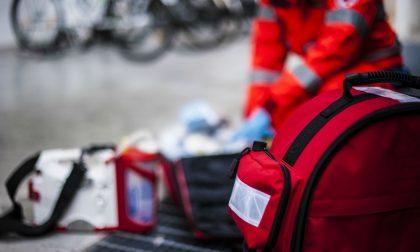 Grave incidente, motociclista soccorso in codice rosso