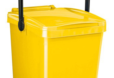 Bidone giallo sperimentazione in altre due zone di Lecco