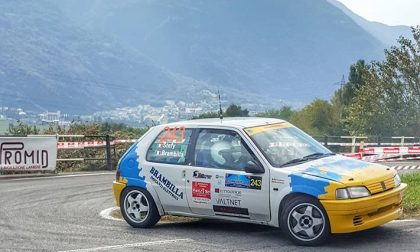 Rally Coppa Valtellina Abs Sport sul podio