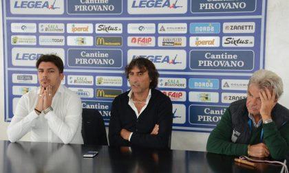 Panchina Lecco De Paola Qui calcio professionistico