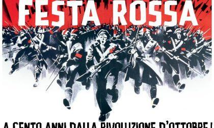 Festa Rossa a Lecco nel centenario della Rivoluzione d'ottobre