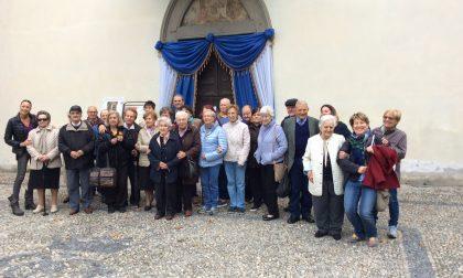 Anziani lecchesi in visita al Santuario del Lavello con Linee Lecco