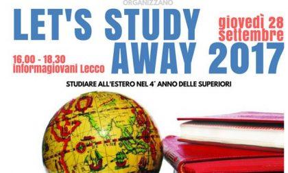 Studiare all'estero: un incontro per scoprire come farlo
