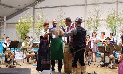 Inaugurazione dell'Oktoberfest a Sotto Il Monte