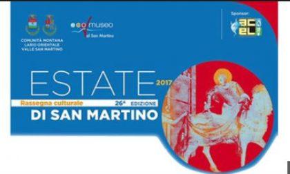 Domani secondo appuntamento con la rassegna culturale  Estate di San Martino