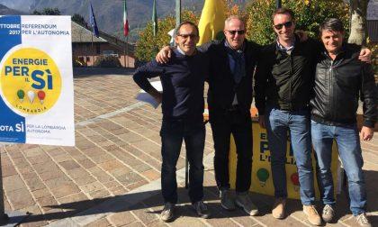 Energie per l'Italia in piazza per il Sì al referendum autonomia FOTO