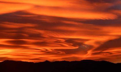 Svelato il segreto del tramonto mozzafiato NUOVE FOTO DAL LECCHESE