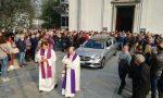 In tanti ai funerali di Ornella Castelnuovo