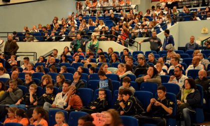 Teatro gremito per i campioni della Polisportiva FOTO