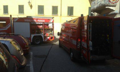 I Vigili del Fuoco domano le fiamme in due abitazioni FOTO