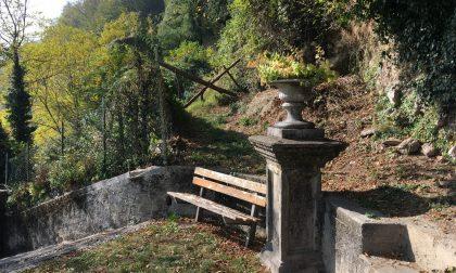 Sentiero di Laorca chiuso per un cedimento