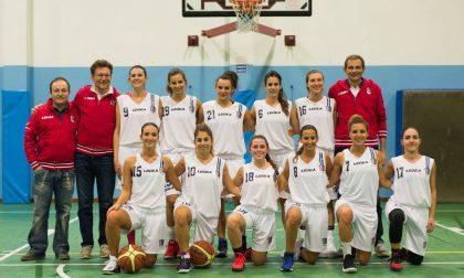 Lecco Basket Women, Pozzi segna il primo storico canestro