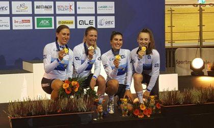 Campionati Europei su Pista, Valsecchi d'oro con l'Italia