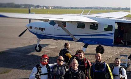 E' meratese il record italiano di paracadutismo di velocità