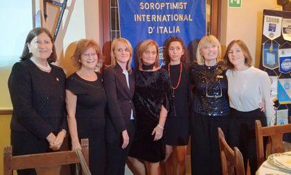 Il Soroptimist Club Merate riparte nel ricordo di Anna Bianchi