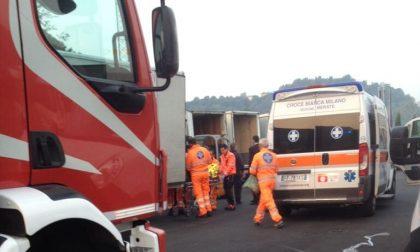 Infortunio sul lavoro a Brivio: ferito un 25enne