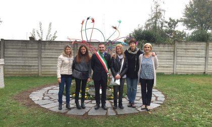 Asilo Cortenuova inaugurato il monumento ai volontari FOTO