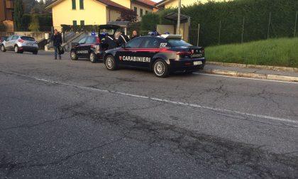 Incidente auto moto a Brivio