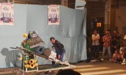 Il festival degli artisti di strada di Olginate in gara per un premio