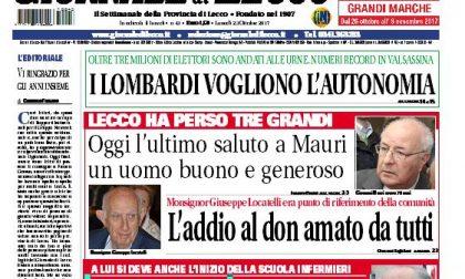 Franca Gerosa è il nuovo direttore del Giornale di Lecco. I ringraziamenti di Giancarlo Ferrario