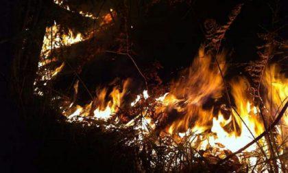 Rimane alta l'allerta incendi anche nel lecchese
