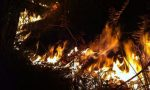 Allarme incendi 309 ettari bruciati nel lecchese da inzio anno
