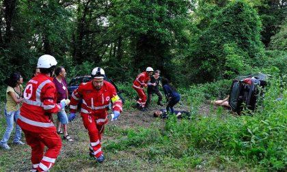 In scena l'esercitazione maxi emergenza