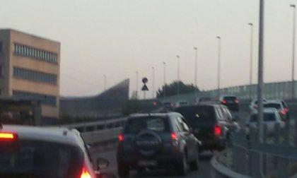 Traffico bestiale, viabilità lecchese in tilt