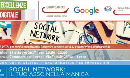 Social network protagonisti dell'incontro in Camera di Commercio
