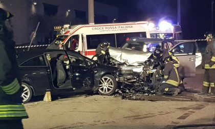 Incidente frontale tra Brivio e Airuno FOTO
