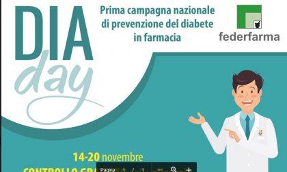 Federfarma Lecco partecipa alla campagna nazionale di prevenzione del diabete