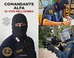 """Il comandante Alfa presenterà """"Io vivo nell'ombra"""""""