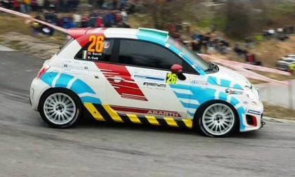 Esordio vincente del ballabiese Andrea Coti Zelati nel Rally del Gomitolo