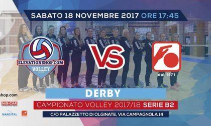Picco Olginate derby oggi al palazzetto di via Campagnola out Tresoldi e Comi inizio 17.45