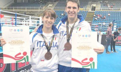Kickboxing, bronzo mondiale per Elisa Carsana e Martino Bonaiti