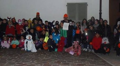 Halloween mostruoso con la Banca del tempo