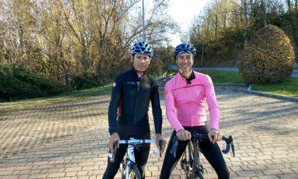 Lo spot del Giro d'Italia arriva a Montevecchia