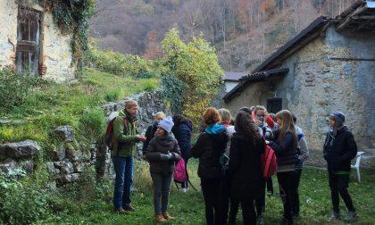 Borgo Nesolio, alunni in visita