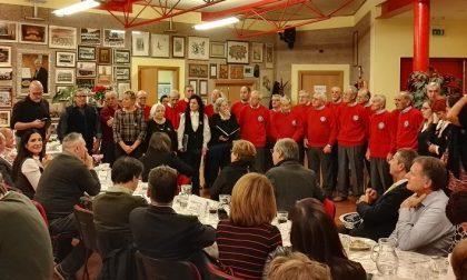 A cena con il Coro Val San Martino