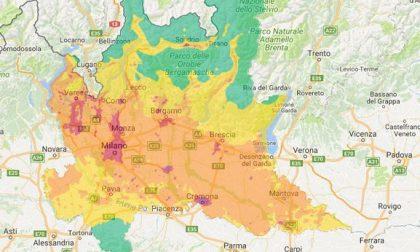Pm10 sotto la soglia a Lecco e Valmadrera sopra a Merate. Nel week end arriva la pioggia