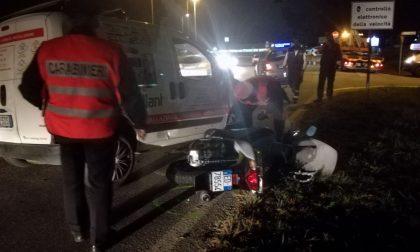 Incidente tra tre mezzi, tre in ospedale