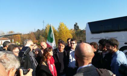 Conclusa la tappa di Matteo Renzi nel Lecchese FOTO