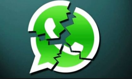 WhatsApp in tilt anche nel Lecchese