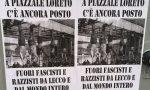 Duri volantini antifascisti in città