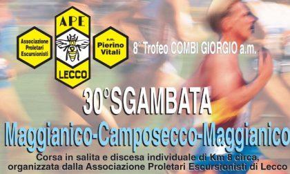 Domenica si corre la Sgambata Maggianico-Camposecco
