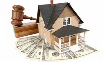 Boom delle case comprate all'asta nel Lecchese