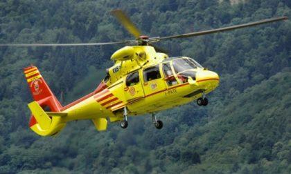 Ancora un infortunio sul lavoro: operaio trasportato in elicottero in ospedale