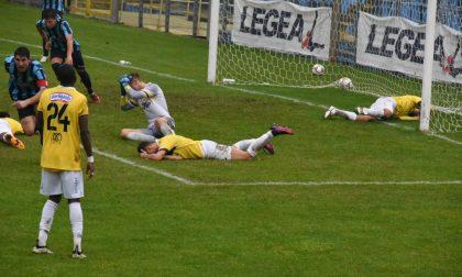 Calcio Lecco, pareggio in extremis: 1-1 col Ciliverghe