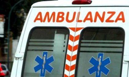 Barzio, soccorso don Lucio Galbiati per una caduta in strada