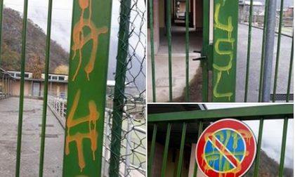 Vandali in azione a Civate FOTO